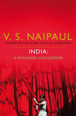 Book cover for India: A Wounded Civilization