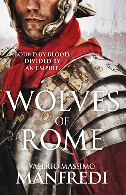 Book cover for Wolves of Rome