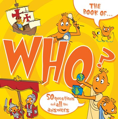 Book cover for The Book Of...Who? CANCELLED