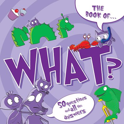Book cover for The Book Of...What?