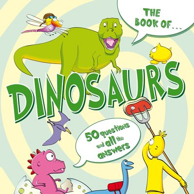 Book cover for The Book Of...Dinosaurs