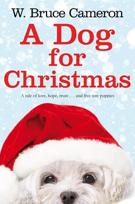Book cover for A Dog for Christmas