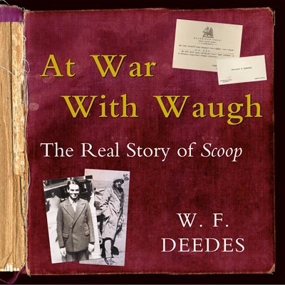 Book cover for At War With Waugh