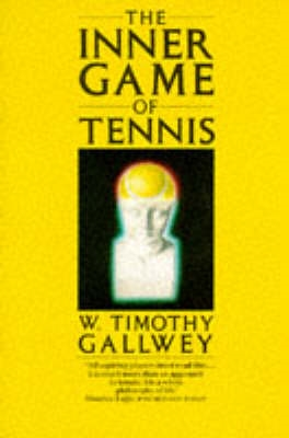 Book cover for The Inner Game of Tennis