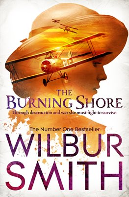 Book cover for The Burning Shore