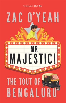 Book cover for Mr Majestic - The Tout of Bengaluru