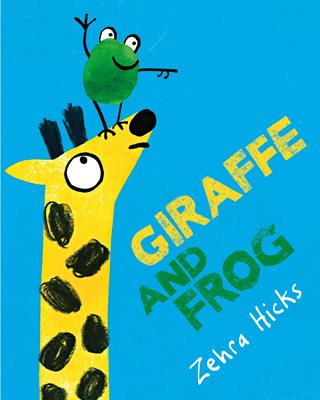 Book cover for Giraffe and Frog
